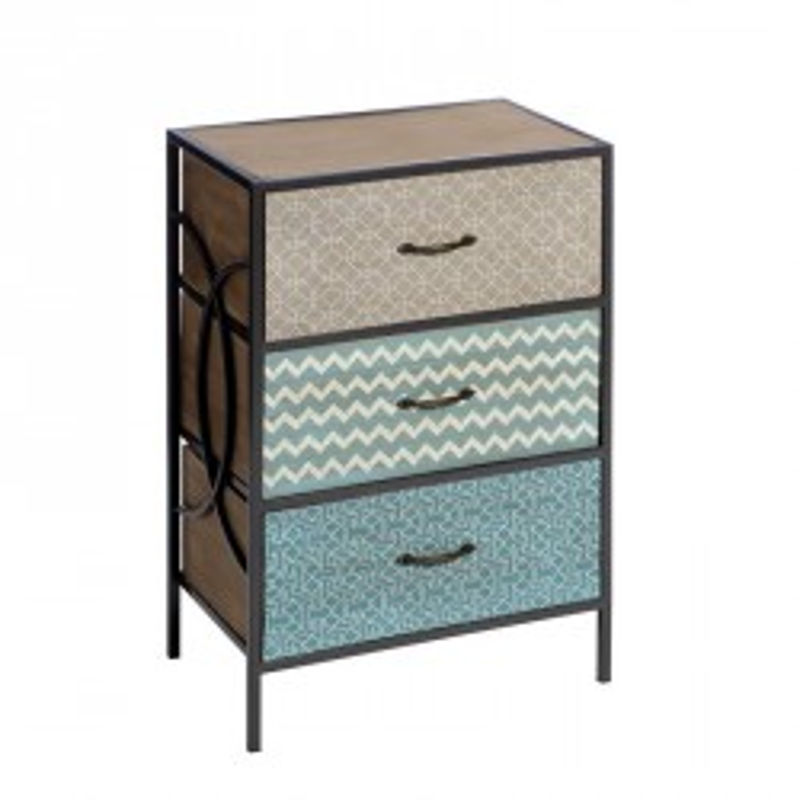 Chiffonnier 3 tiroirs - FEBE - Univers des Petits meubles : Tousmesmeubles