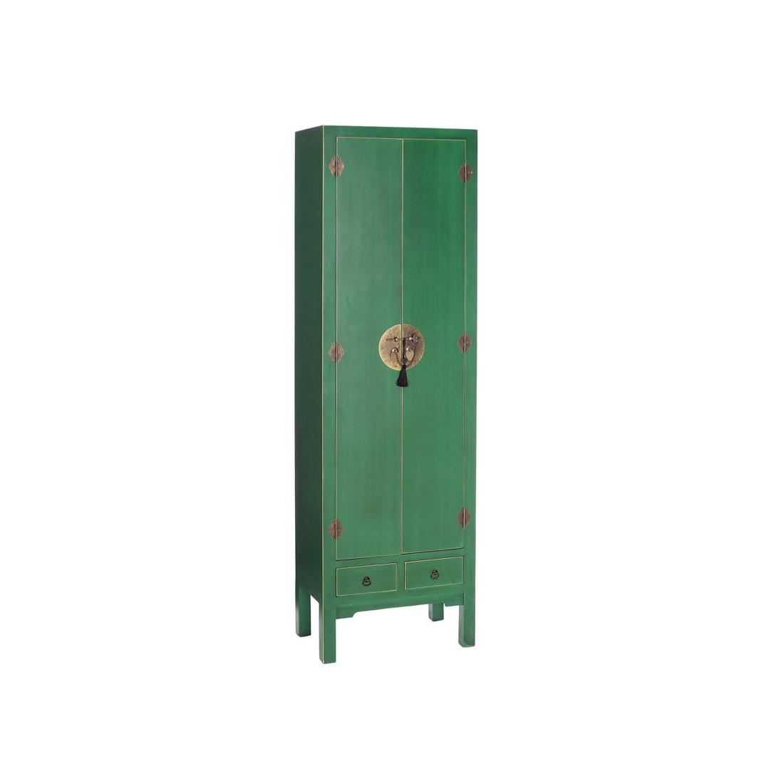 Armoire Chambre Verte : Armoire lingère verte meuble chinois pekin univers de la