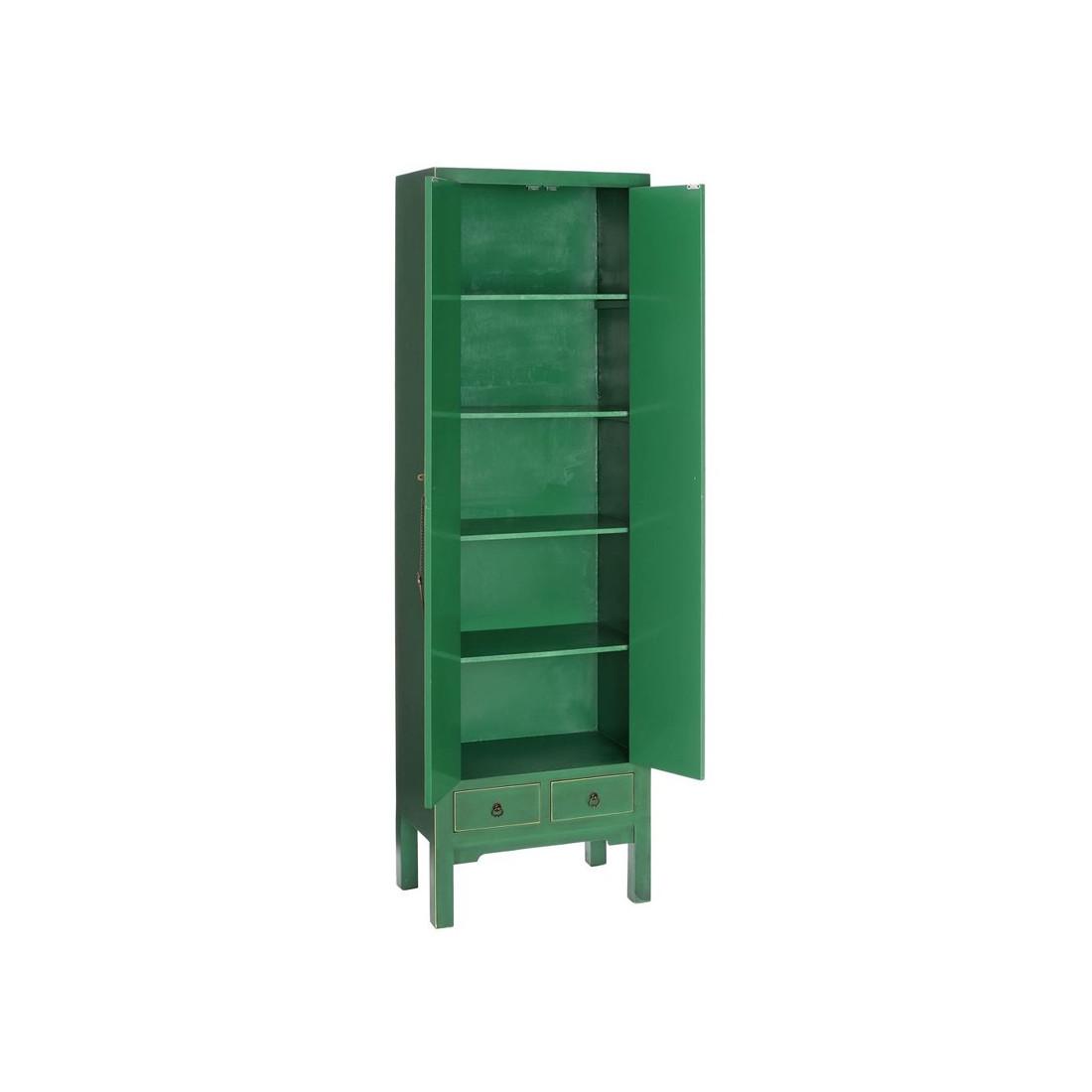 armoire ling re verte meuble chinois pekin univers de la chambre. Black Bedroom Furniture Sets. Home Design Ideas