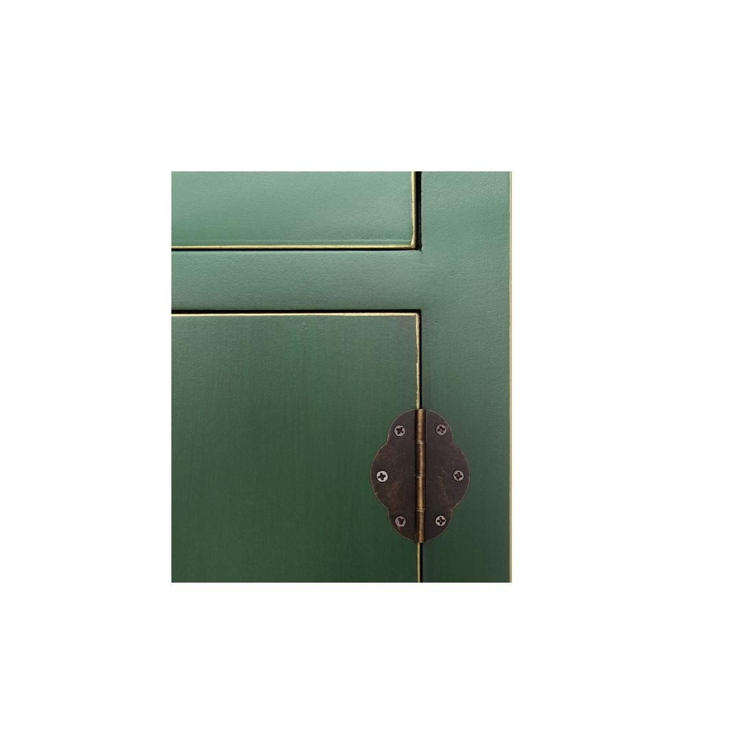 armoire ling re verte meuble chinois pekin univers de la. Black Bedroom Furniture Sets. Home Design Ideas