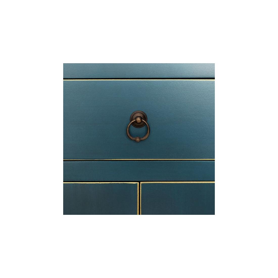 console bleue meuble chinois pekin univers des petits meubles. Black Bedroom Furniture Sets. Home Design Ideas