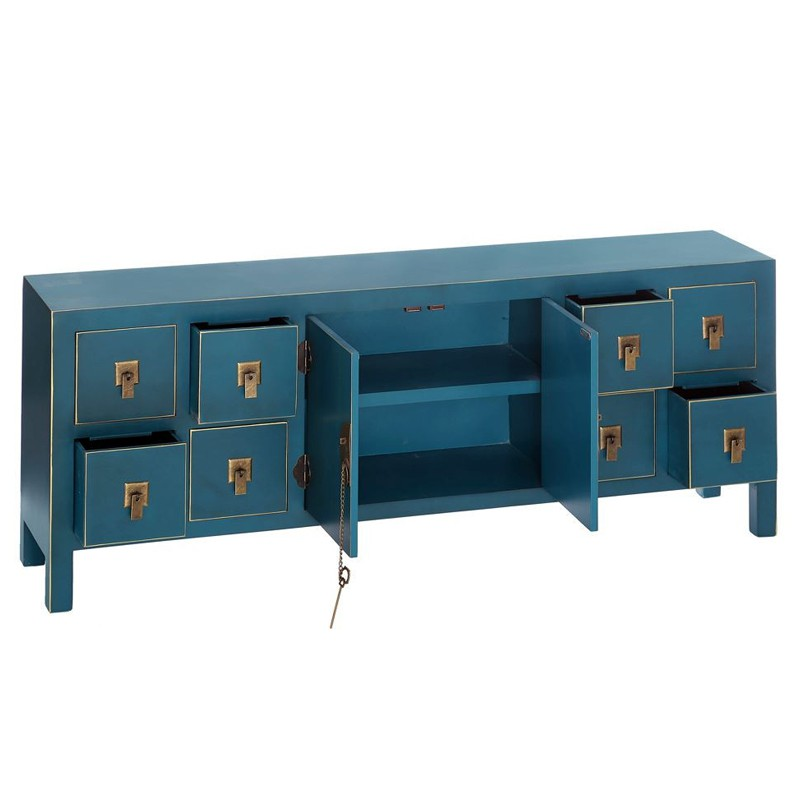 dos de canap bleu meuble chinois pekin univers des petits meubles. Black Bedroom Furniture Sets. Home Design Ideas