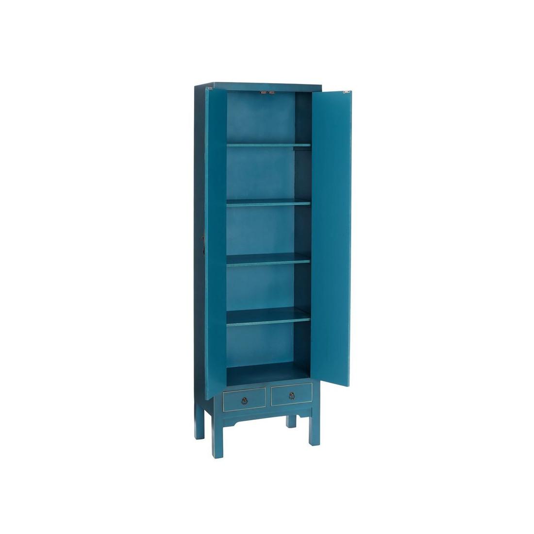 armoire ling re bleue meuble chinois pekin univers de la chambre. Black Bedroom Furniture Sets. Home Design Ideas