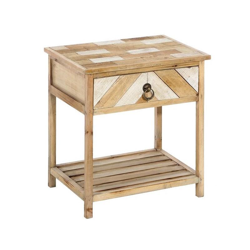Deco guide d 39 achat - Table de chevet bois clair ...