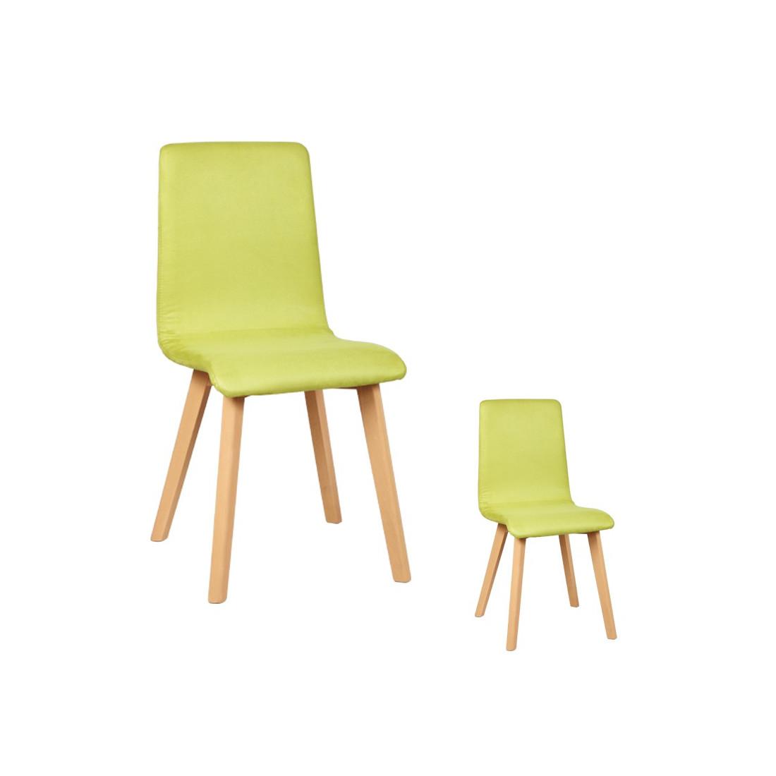 Duo de chaises microfibre volante univers assises for Chaise volante