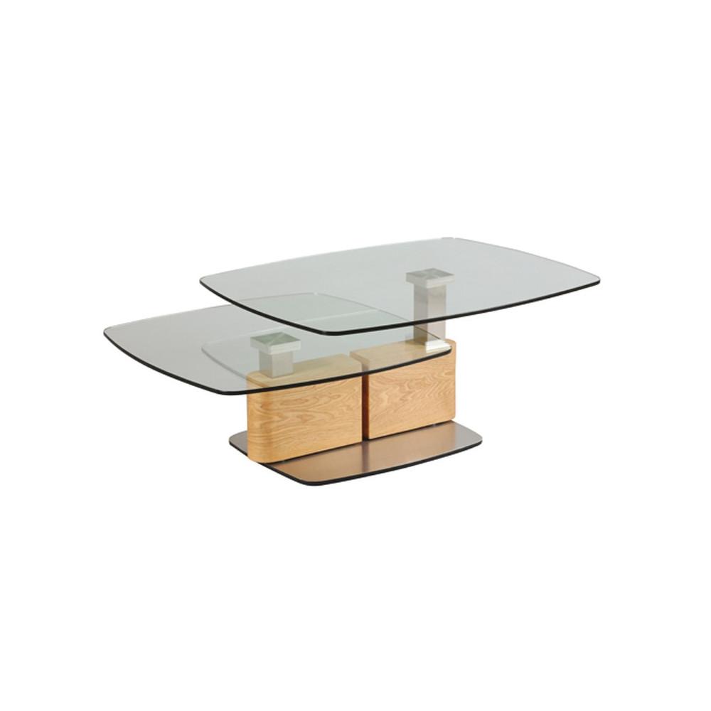 Table basse à géométrie variable CHICAGO - Univers du Salon : Tousmesmeubles