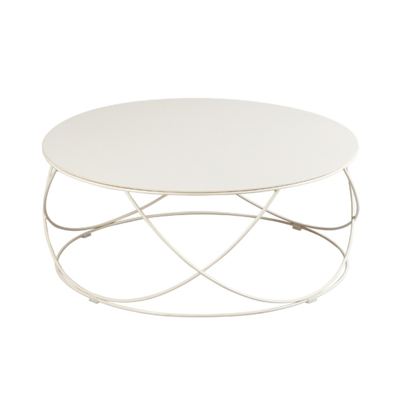 Table basse c ramique champagne dallas univers salon - Table basse ceramique design ...