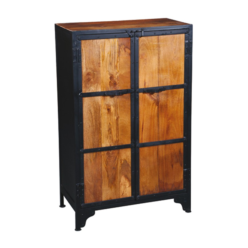 armoire en palissandre denver univers de la chambre tousmesmeubles. Black Bedroom Furniture Sets. Home Design Ideas
