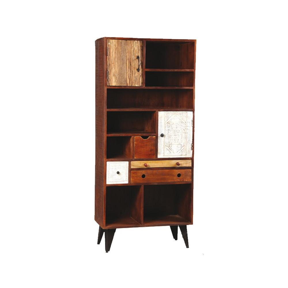 biblioth que palissandre denver univers du salon. Black Bedroom Furniture Sets. Home Design Ideas