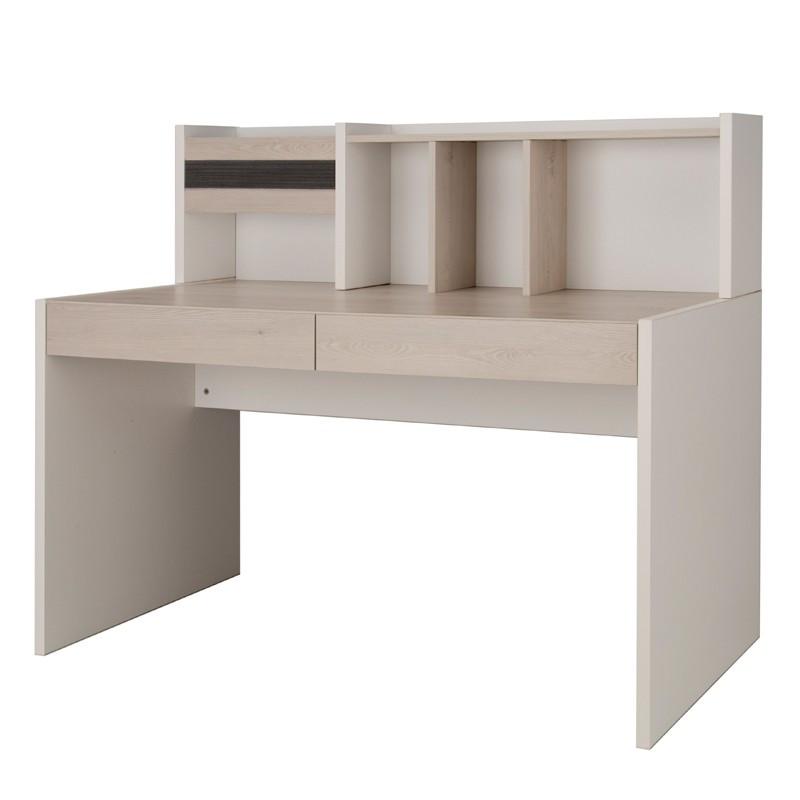 Bureau 2 tiroirs + surmeuble - EDEN