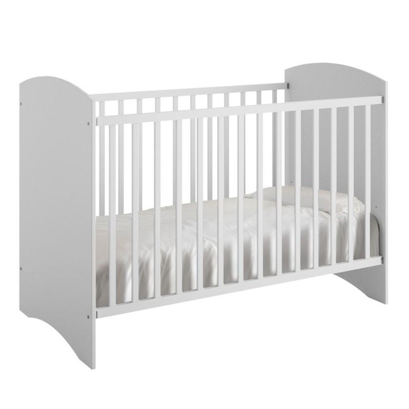 Lit Bébé à barreaux bois avec matelas adapté ANIS - Univers Chambre : Tousmesmeubles