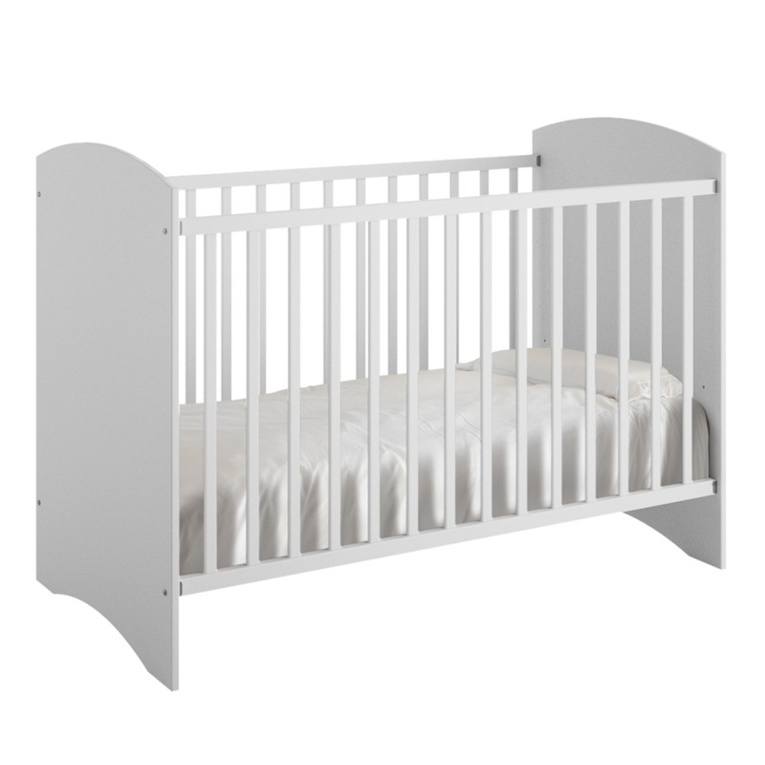 lit b b avec matelas anis univers de la chambre tousmesmeubles. Black Bedroom Furniture Sets. Home Design Ideas