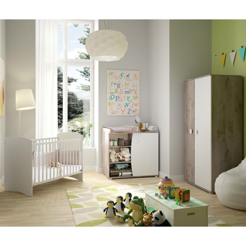 Chambre Bébé Complète + matelas - ANIS