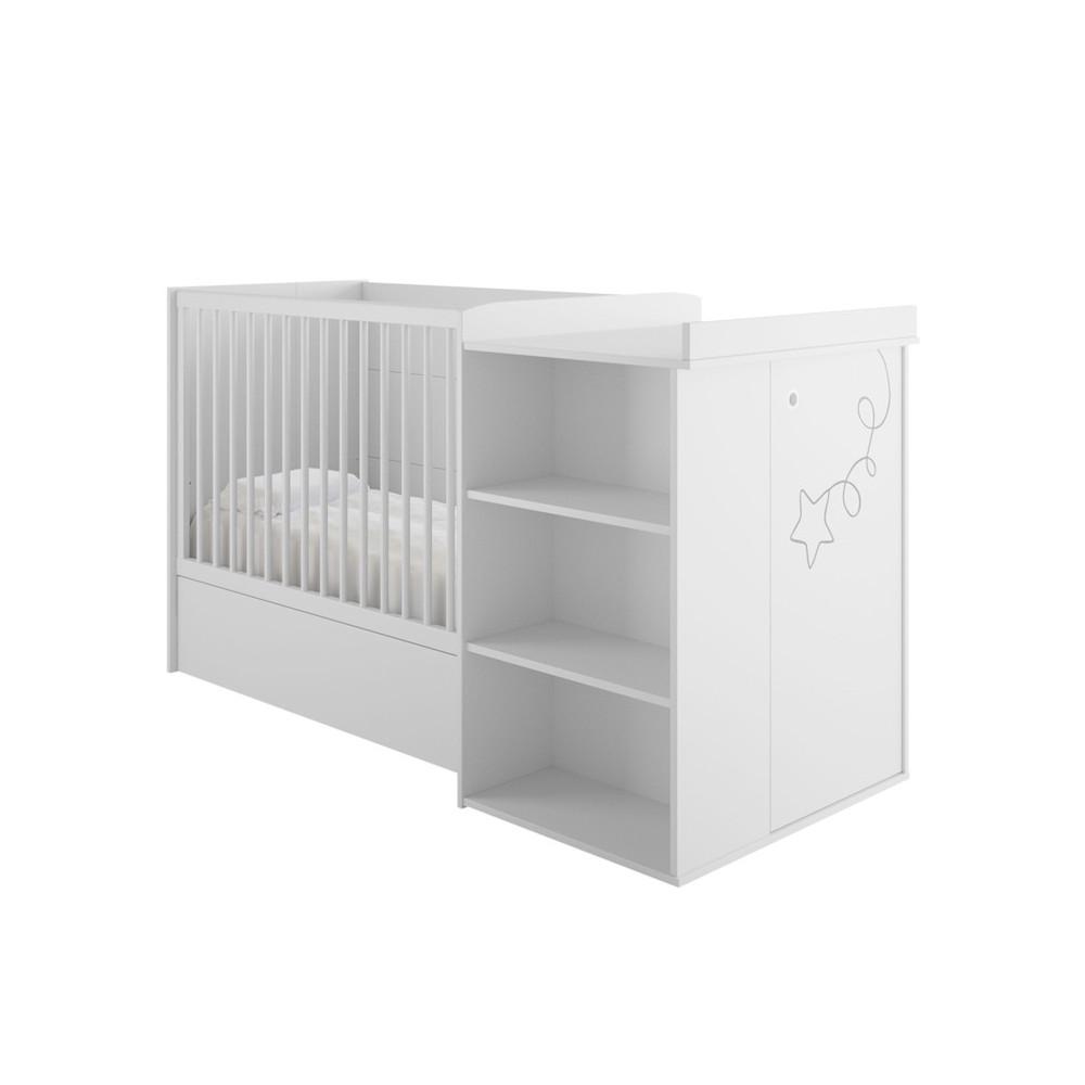 Lit compact bébé Puériculture NOA - Univers Chambre : Tousmesmeubles