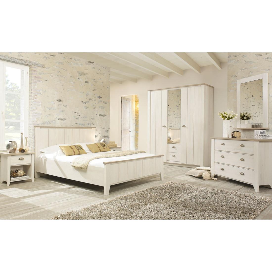 cadre t te de lit 140 200 helene univers chambre. Black Bedroom Furniture Sets. Home Design Ideas