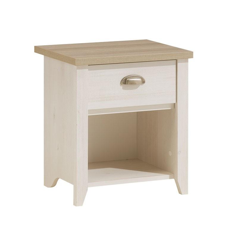 Table de chevet 1 tiroir bois - Univers Chambre : Tousmesmeubles