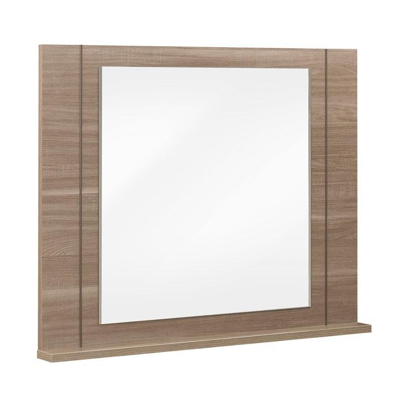 Miroir bois chêne fumé - Univers Décoration et Chambre : Tousmesmeubles