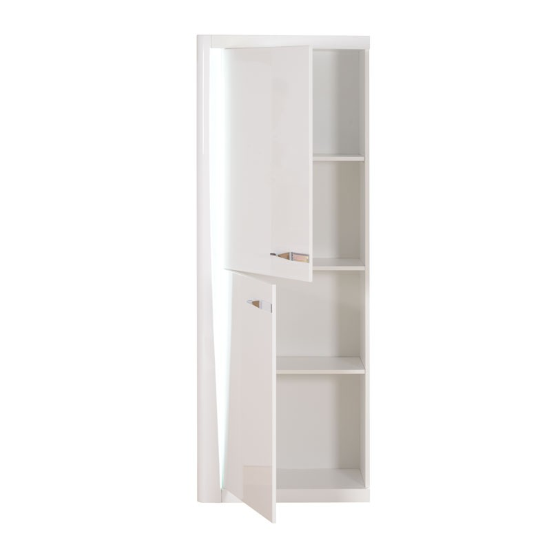 armoire de salon laqu e blanc megs univers de la salle manger. Black Bedroom Furniture Sets. Home Design Ideas