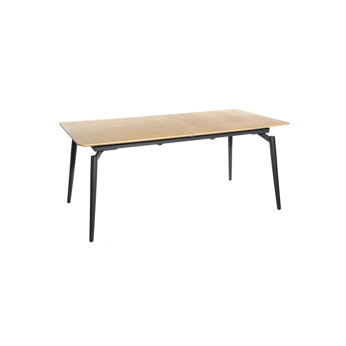 table de repas allonge nagano univers salle manger. Black Bedroom Furniture Sets. Home Design Ideas
