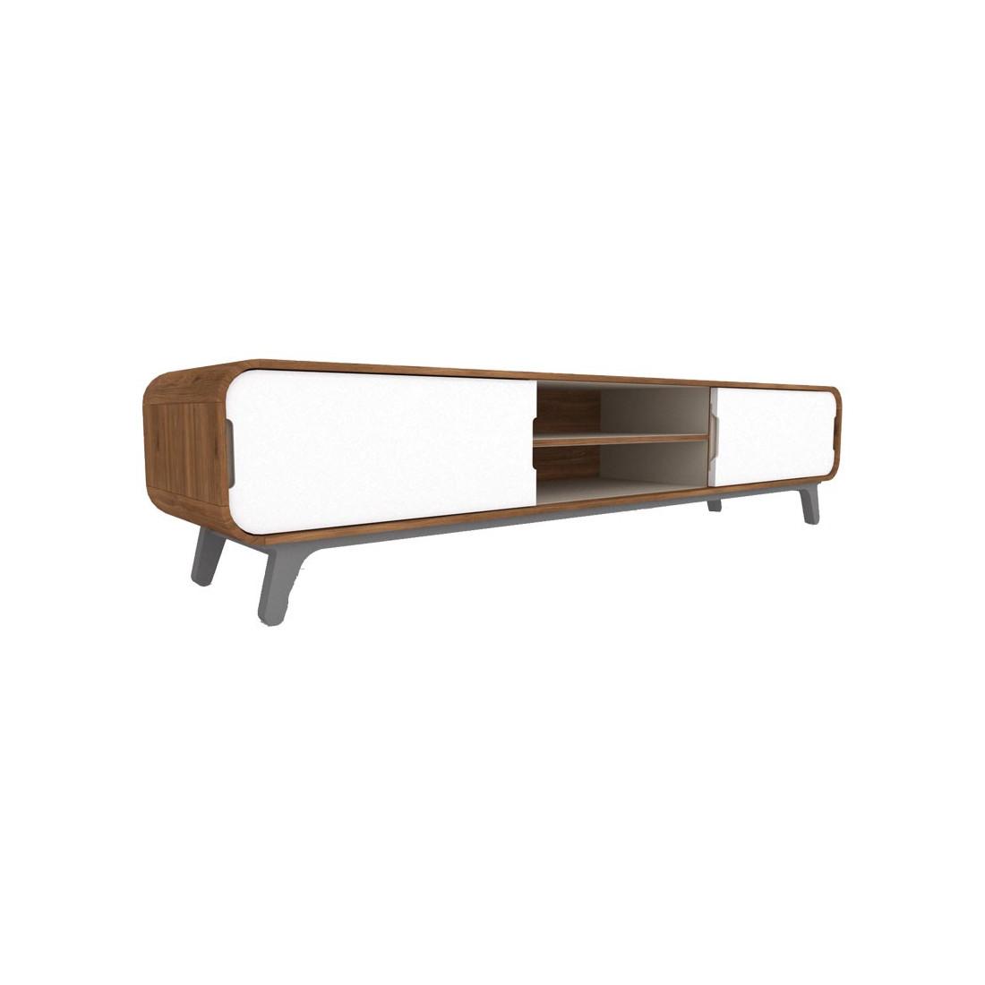 meuble tv fifty univers du salon tousmesmeubles. Black Bedroom Furniture Sets. Home Design Ideas