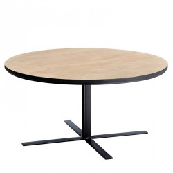 Tables basses salon meubles maison 6 tousmesmeubles for Table ronde 52