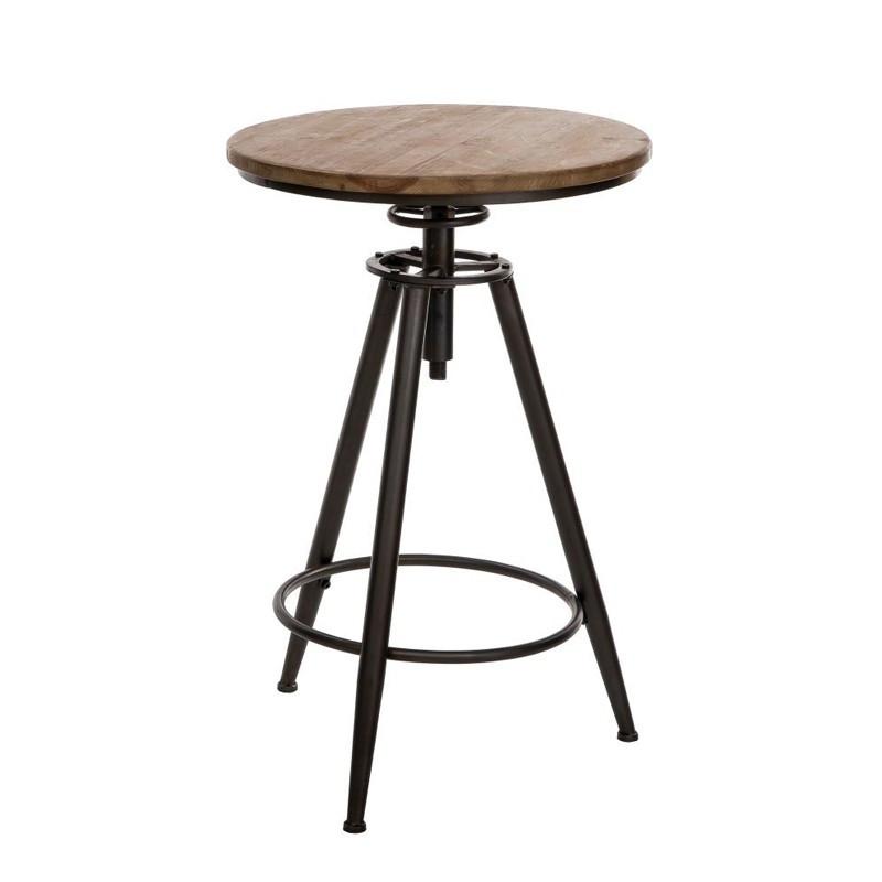 tables rondes salle manger meubles maison tousmesmeubles. Black Bedroom Furniture Sets. Home Design Ideas