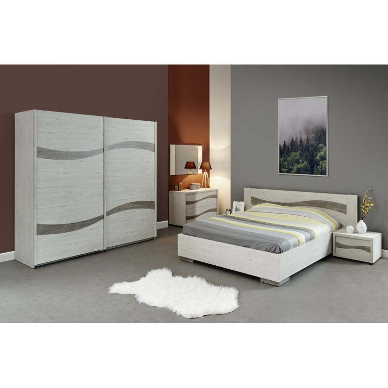 cadre t te de lit 160 200 cm adonis univers de la chambre. Black Bedroom Furniture Sets. Home Design Ideas