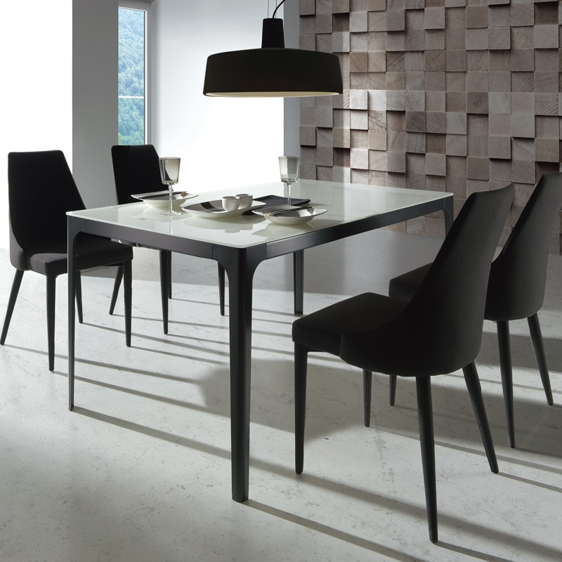 table de repas miamona univers de la salle manger tousmesmeubles. Black Bedroom Furniture Sets. Home Design Ideas