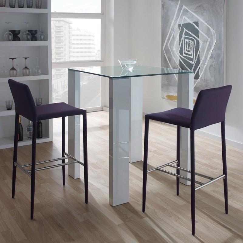 table de repas carr e mange debout grissam univers salle manger. Black Bedroom Furniture Sets. Home Design Ideas