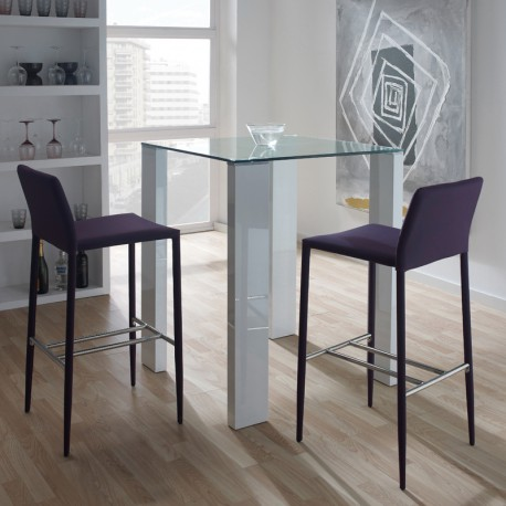 Table haute blanche - GRISSAM
