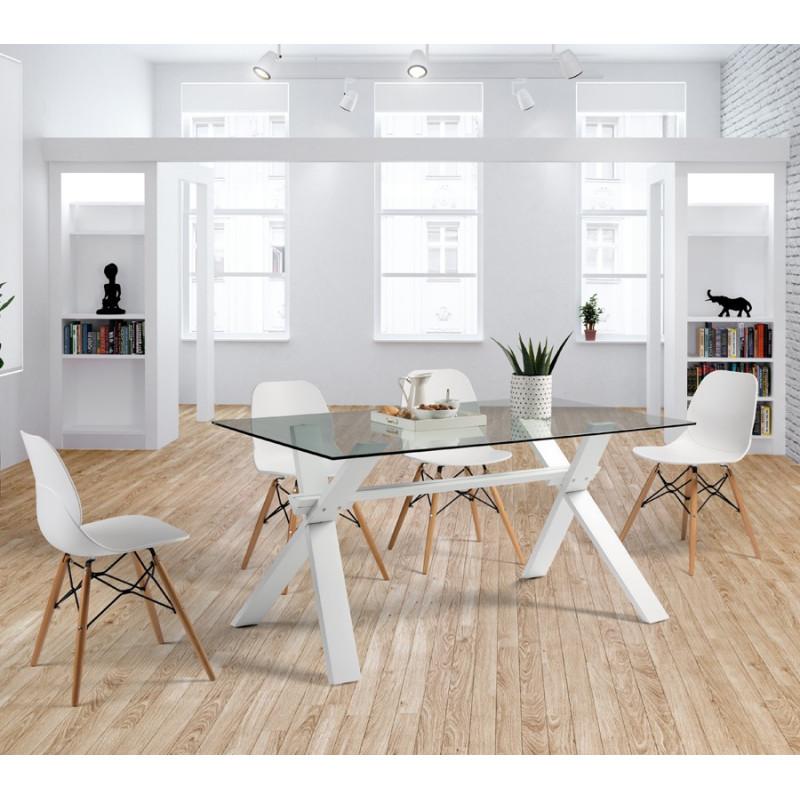 Table de repas blanche - ZIGGY
