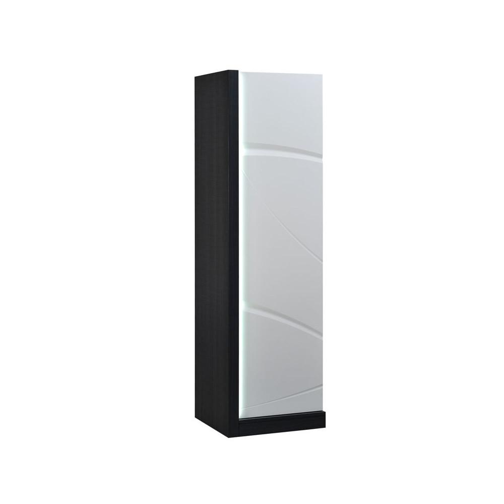 armoire de salon 1 porte touche l che leds eclypse univers salon. Black Bedroom Furniture Sets. Home Design Ideas