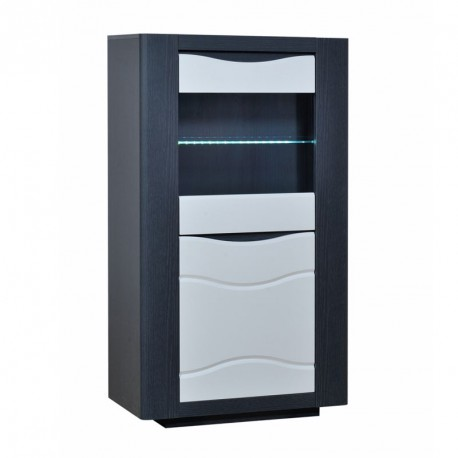 armoire de salon moderne led 39 s 2 portes n 1 onix univers du salon. Black Bedroom Furniture Sets. Home Design Ideas