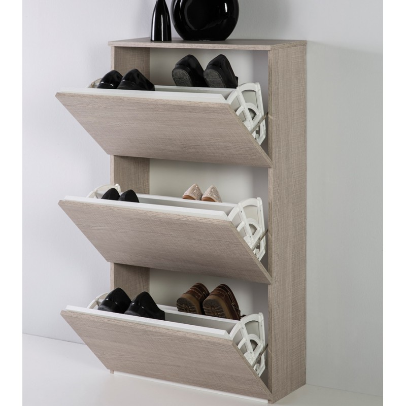 meuble chaussures ch ne clair owenne univers des. Black Bedroom Furniture Sets. Home Design Ideas