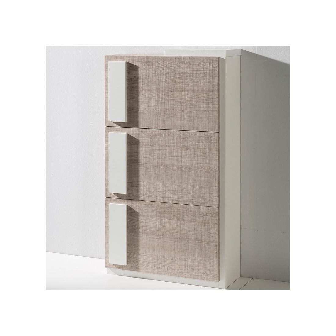 meuble chaussures ch ne clair kendall univers des petits meubles. Black Bedroom Furniture Sets. Home Design Ideas