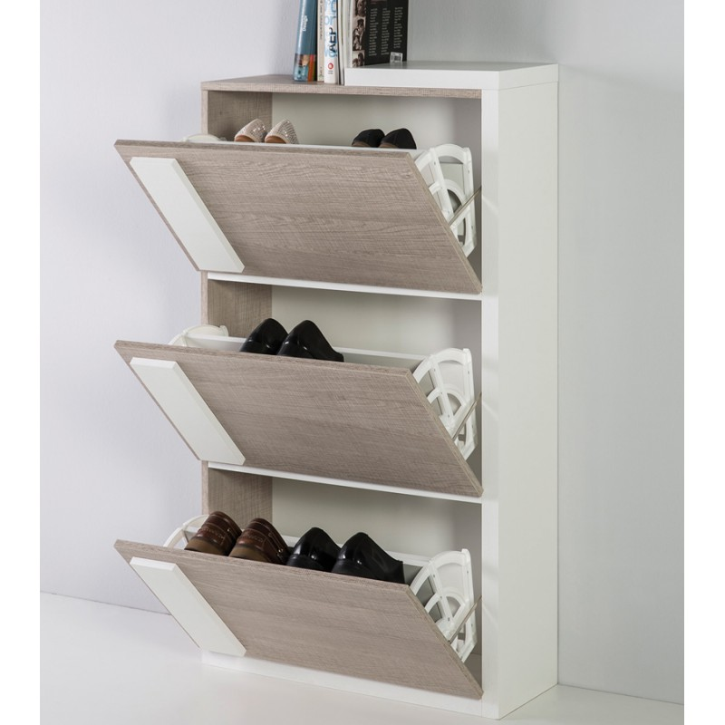meuble chaussures ch ne clair kendall univers des. Black Bedroom Furniture Sets. Home Design Ideas