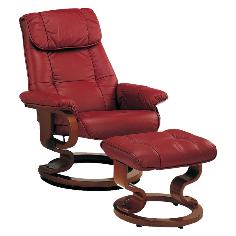 fauteuil relax cuir rouge maison design. Black Bedroom Furniture Sets. Home Design Ideas