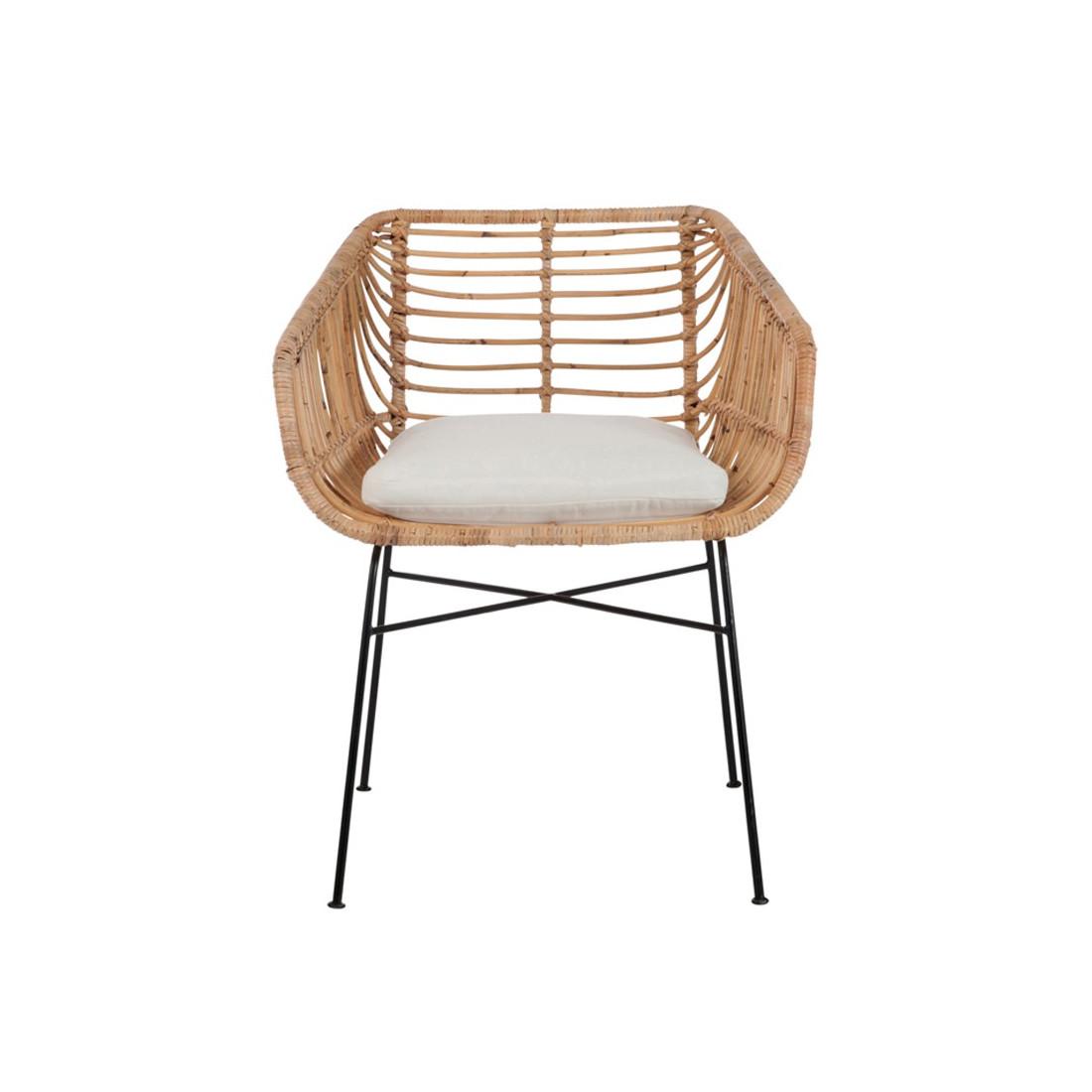 Duo de chaises en rotin bloom univers salle manger et for Chaise de cuisine en rotin