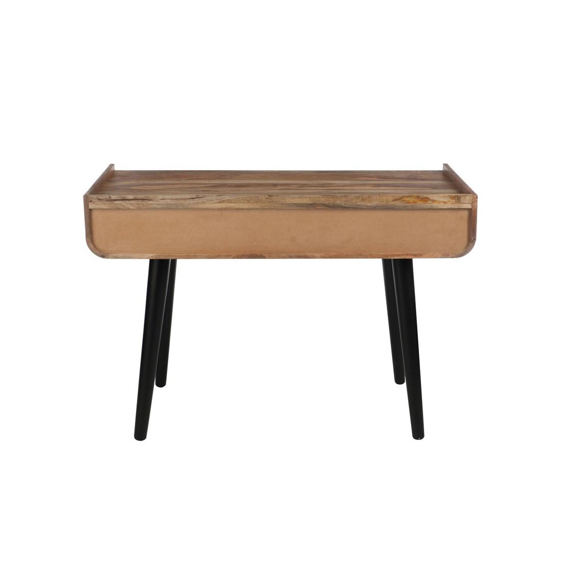 Bureau 3 tiroirs robuste inspir art d co amyr univers for Bureau 3 tiroirs biface
