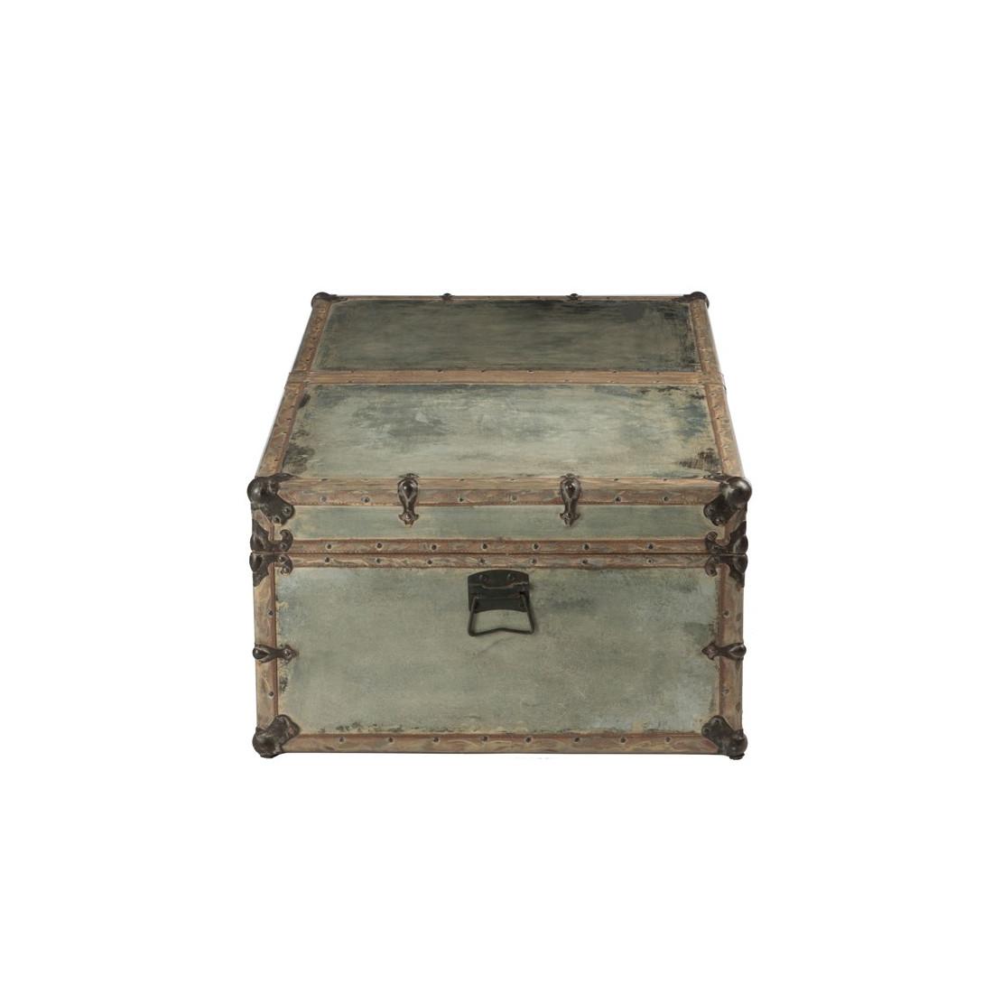 table basse malle de voyage coffre fileas univers du salon. Black Bedroom Furniture Sets. Home Design Ideas