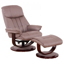 Fauteuil de relaxation Marron - AFFINITE