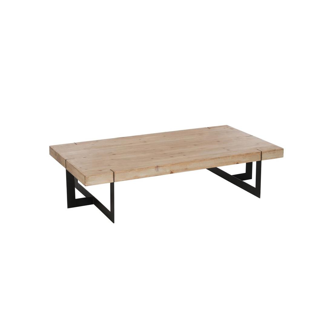 Table basse moderne design grande dimension helphie for Table cuisine 80 x 80
