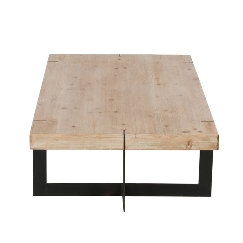 Table basse bois grande dimension 20171014103130 for Table basse grande dimension
