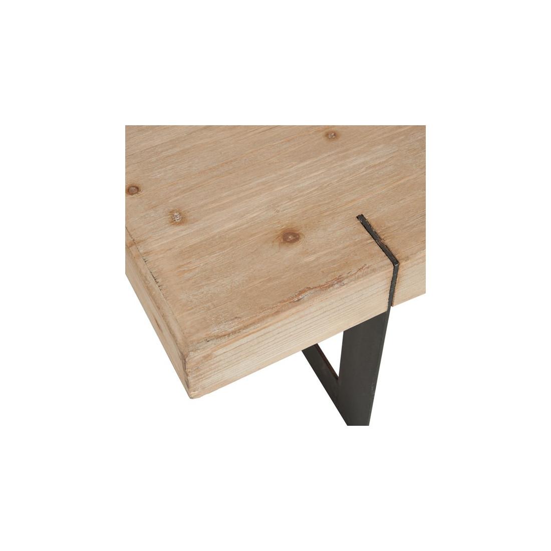 table basse bois grande taille id e inspirante pour la conception de la maison. Black Bedroom Furniture Sets. Home Design Ideas
