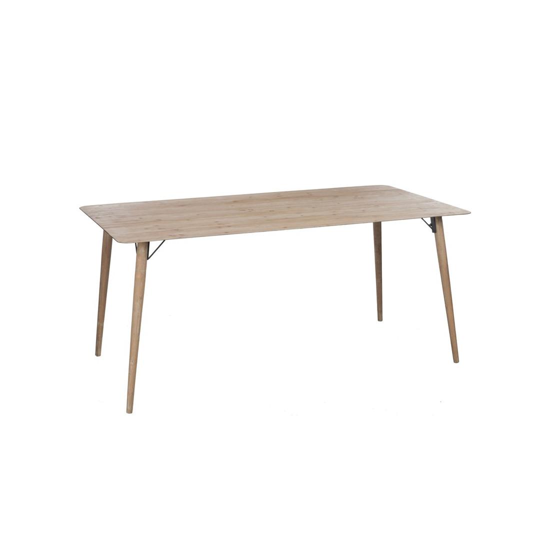 Table de repas en bois naturel pino univers de la salle - Table en bois naturel ...