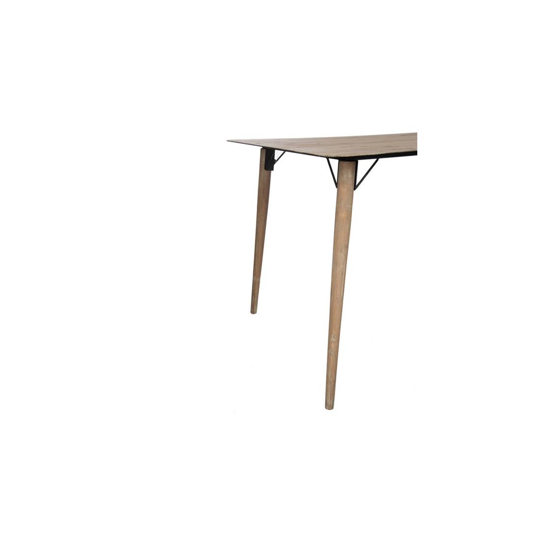 table de repas en bois naturel pino univers de la salle manger. Black Bedroom Furniture Sets. Home Design Ideas