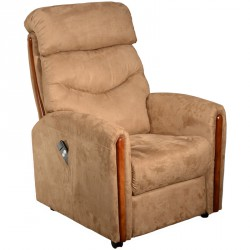Fauteuil de relaxation Marron - TRADITION