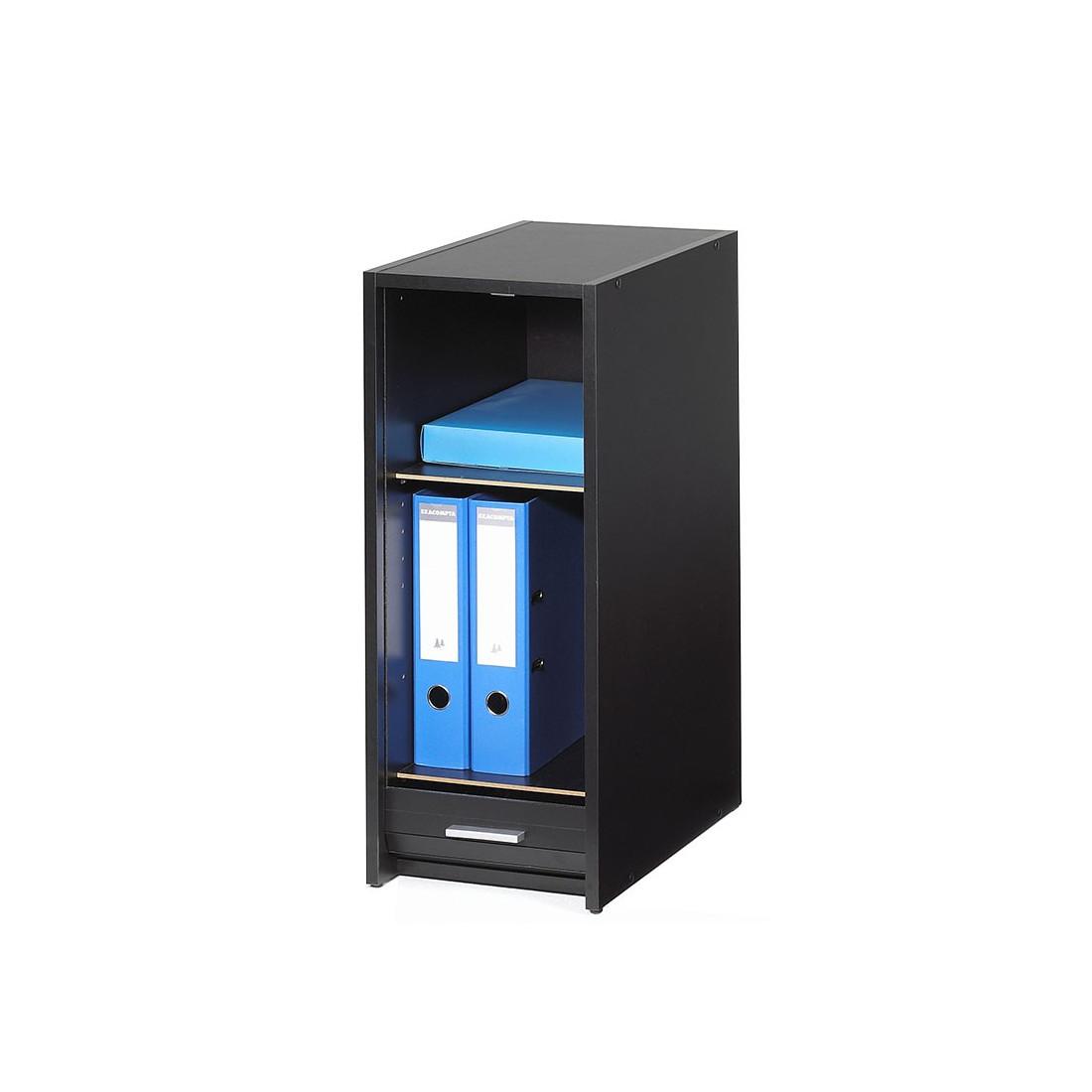 caisson rideau noir et caisson noir jeezy n 1 univers bureau. Black Bedroom Furniture Sets. Home Design Ideas