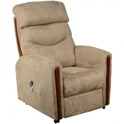 Fauteuil de relaxation Taupe - TRADITION