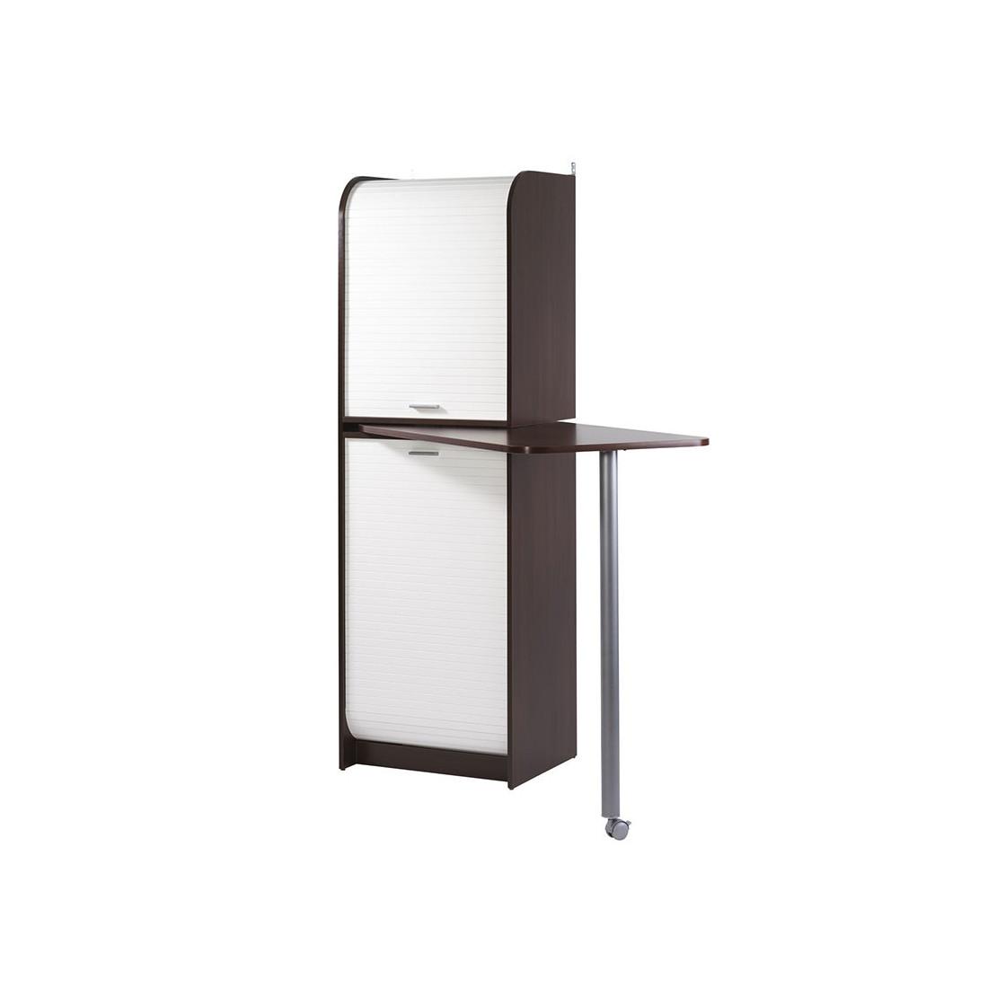 colonne de rangement plateau pivotant weng vina univers cuisine. Black Bedroom Furniture Sets. Home Design Ideas